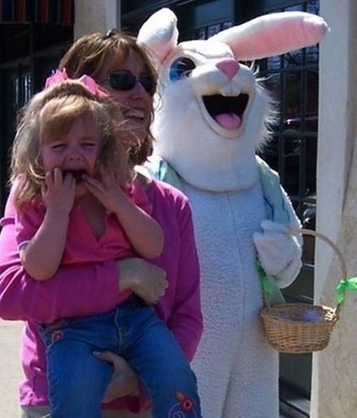 Best Easter Bunny Creepiness Images On Pinterest Creepy - 26 creepy easter bunnies