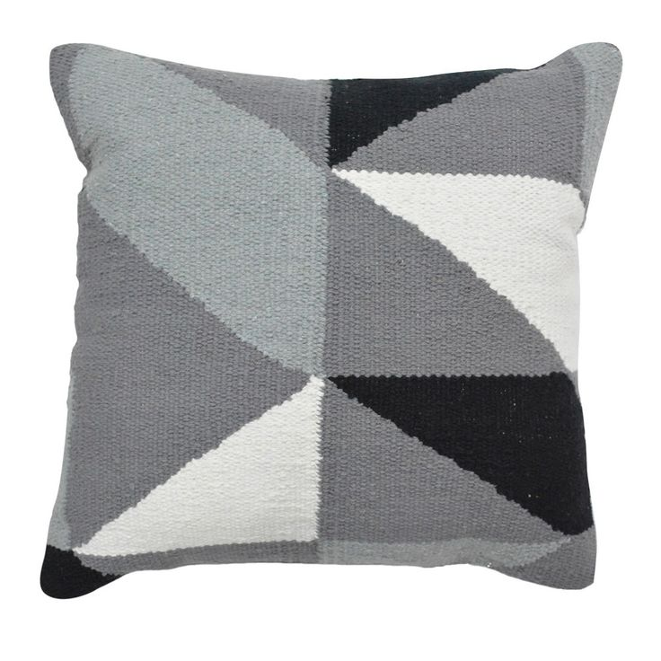 Geometric Throw Pillow (18) - Grey - Room Essentials, Silver Gray