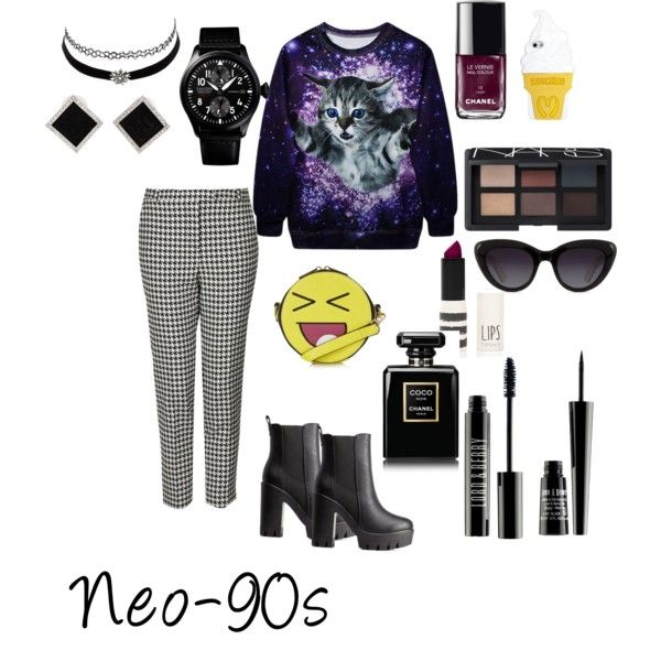 Updated 90s grunge by hajimo on Polyvore featuring polyvore, fashion, style, Topshop, Charlotte Russe, Yvel, Moschino, NARS Cosmetics, Lord & Berry and Chanel