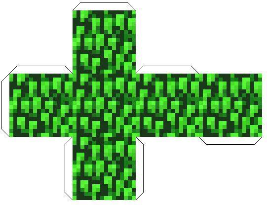 Minecraft Paper: Blokken