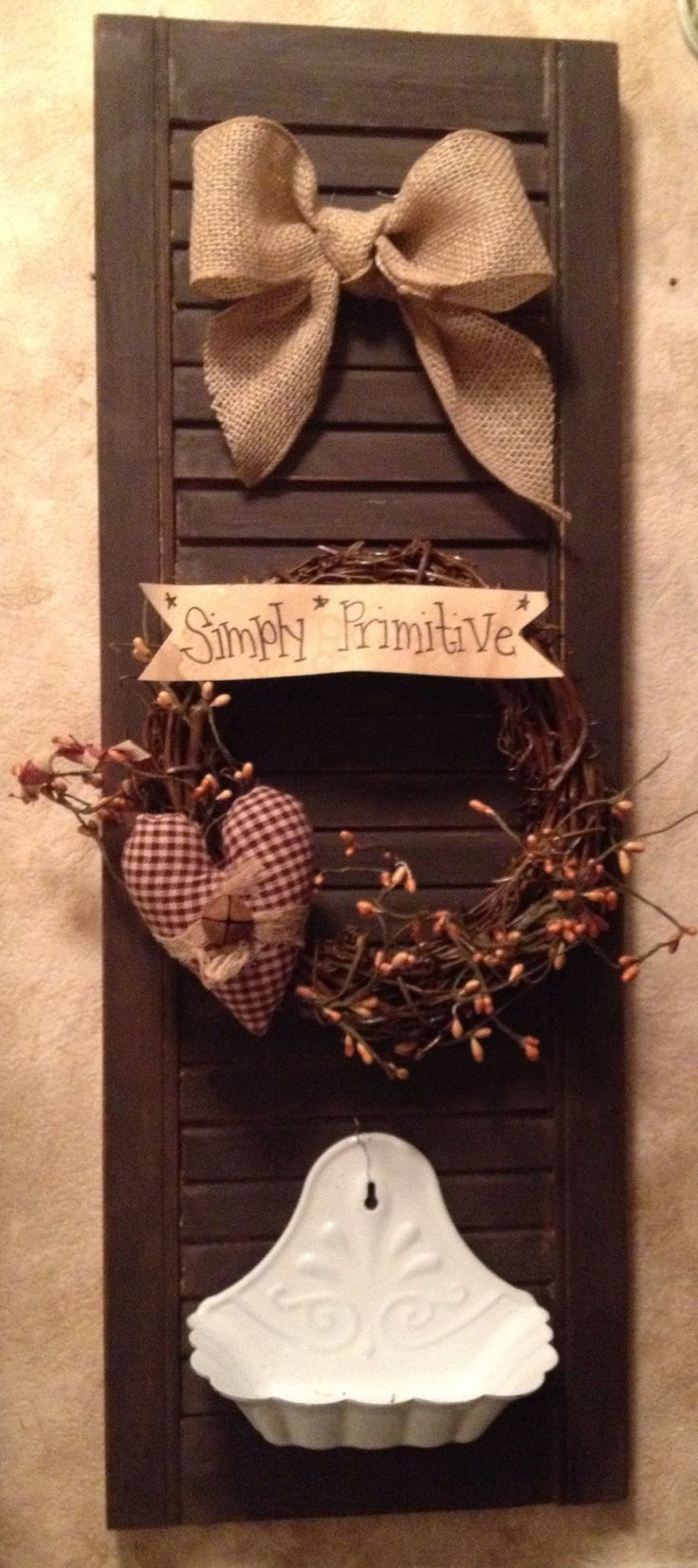 25 unique Primitive shutters ideas on Pinterest  Americana crafts Texas independence day 2016