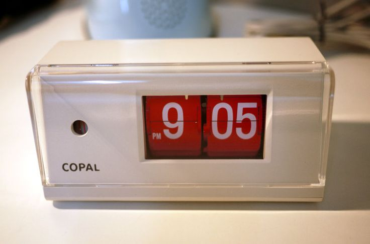 1000 Images About Flip Clocks On Pinterest Radios