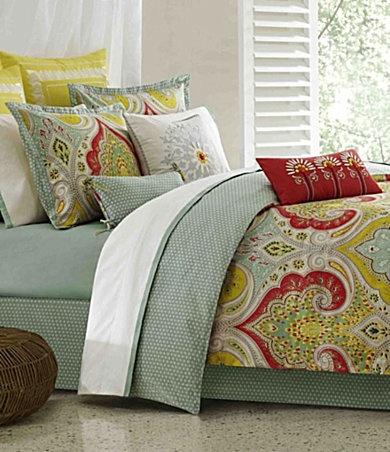 Echo Jaipur Paisley Amp Pebble Sateen Comforter Set Polka