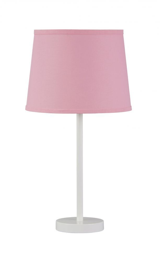 Shonie White/Pink Table Lamp