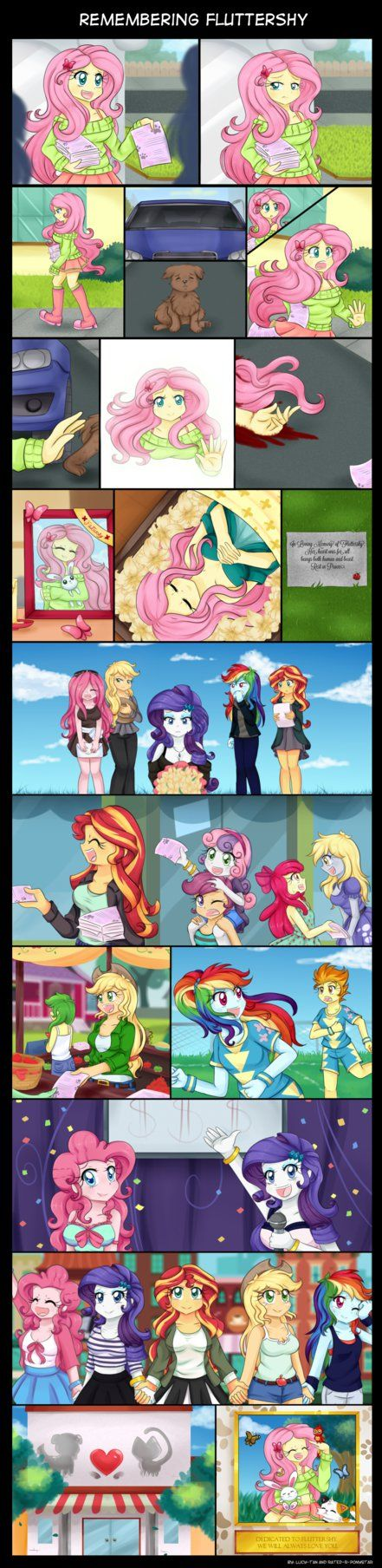 Remembering Fluttershy by Lucy-tan.deviantart.com on @DeviantArt>>> can I just say... Who the fuck would make something like this?!?!