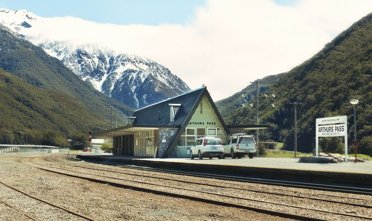 Arthur's Pass Station, New Zealand's highest train station