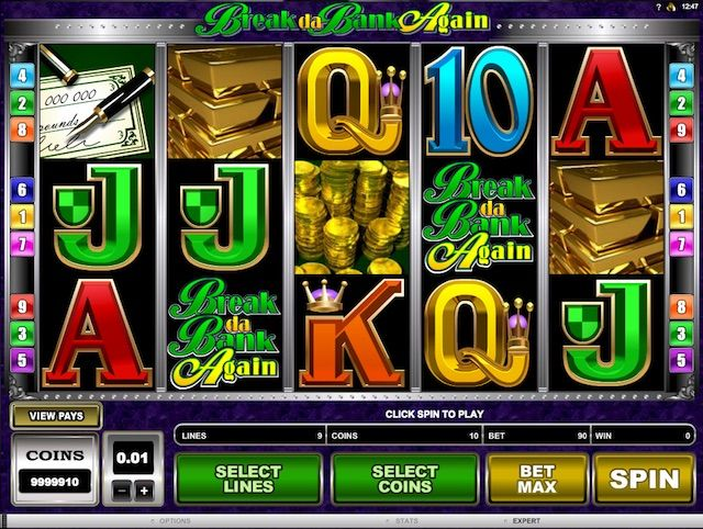 Break da Bank Again spilleautomat på Betsafe Casino