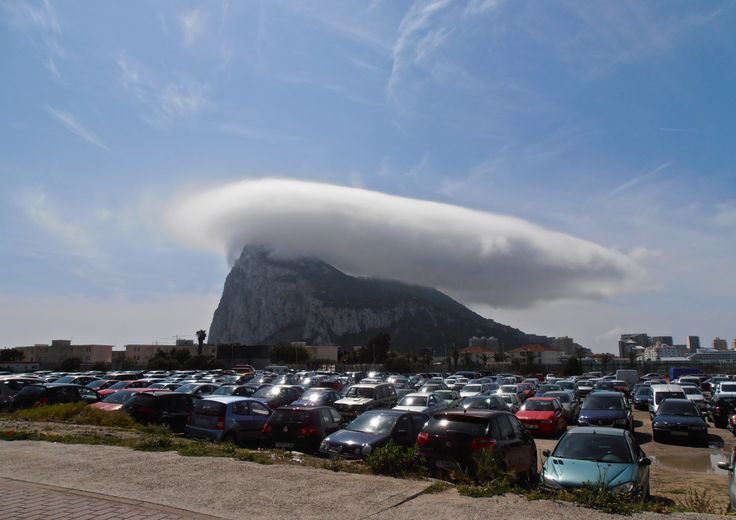 """And a """"rock"""" it is. It even has its own weather! And what weather... what more proof do you need that Gibraltar is, in fact, British!?"""