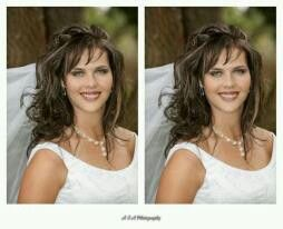 Bride curly hairstyles