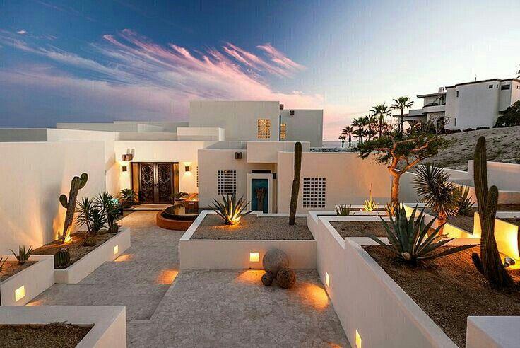 Modern Mexican house                                                       …