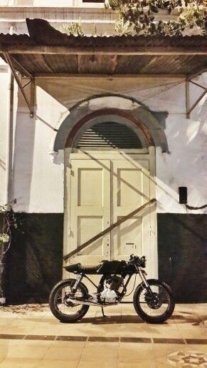 Old bike, old building