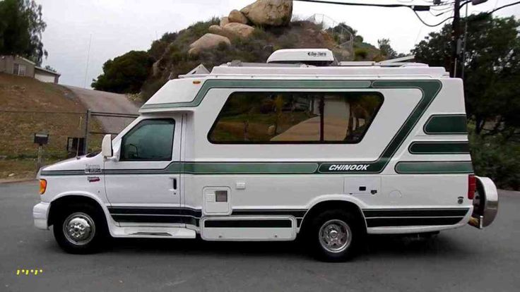 Small rv for sale new chinook concourse rv motorhome class c or b solar powered ford