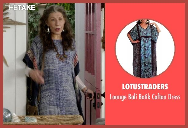 5a99c7f3fb Discover ideas about Funky Outfits. Frankie Bergstein s Blue Lotustraders  Lounge Bali Batik Caftan Dress from Grace ...