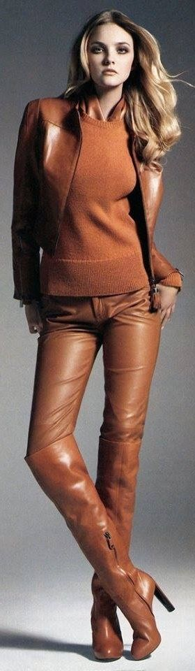 Fall Forward! Designer Fashion Trends Leather
