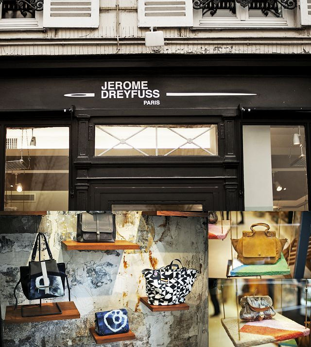 At the same address there is a beautiful shop carrying Jérôme Dreyfuss' handbags, shoes and accessories: http://goo.gl/ecDxcK