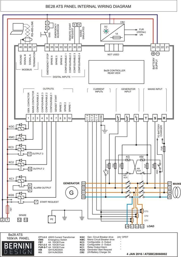 Diesel Generator Control Panel Wiring Diagram Motores, Autos