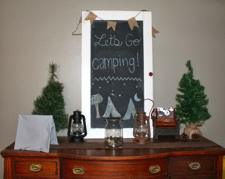 McCarty Designs: Vintage Camping Theme Baby Shower