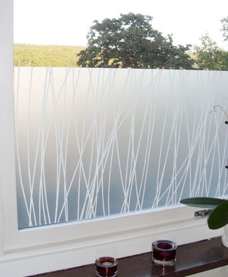 15 Modern Window Films -- Maria Linn Linjer Window Film (Scandinavian Design Center)