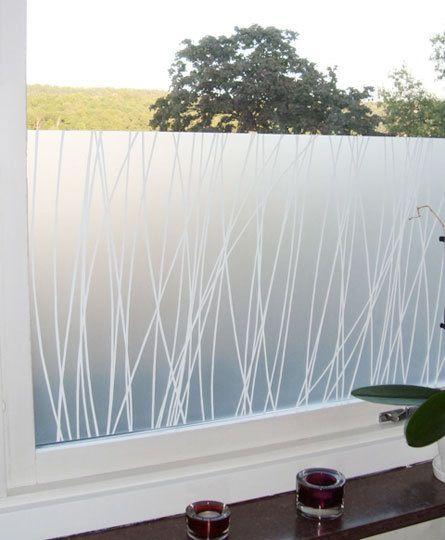 15 Modern Window Films -- Maria Linn Linjer Window Film (Scandinavian Design Center)
