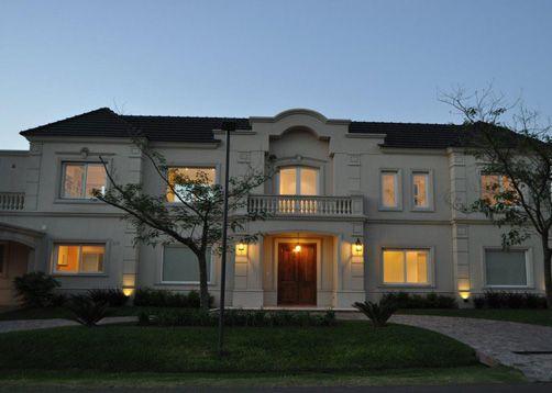 Marconi silva arquitectos terrazas y jardines for Fachadas de casas estilo clasico