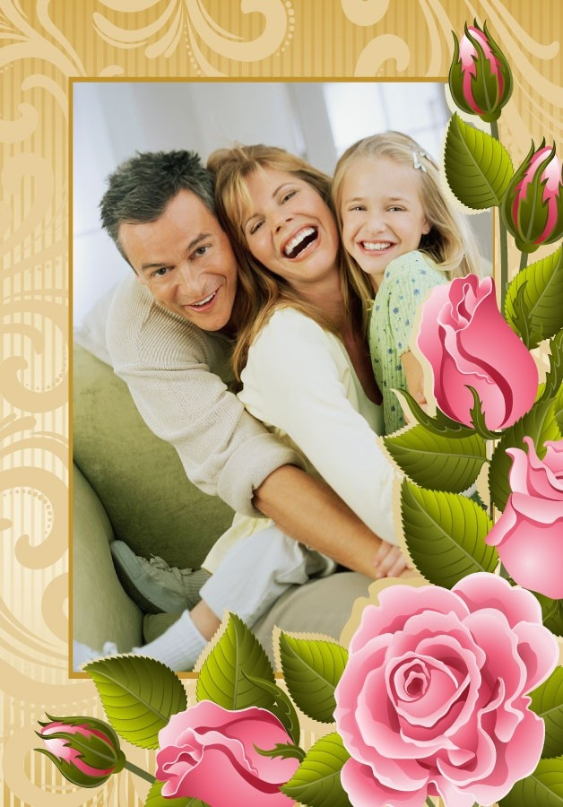 """Wholesale Printers, smartwalling, wall decals - Rose Photo Frame """"Happy Snaps"""" Wall Decals, $9.99 (http://www.wholesaleprinters.com.au/rose-photo-frame-happy-snaps-wall-decals)"""