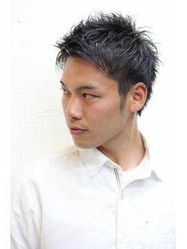 ゼロヘアー zero hair メンズ 爽やかショート 七三 + ツーブロック