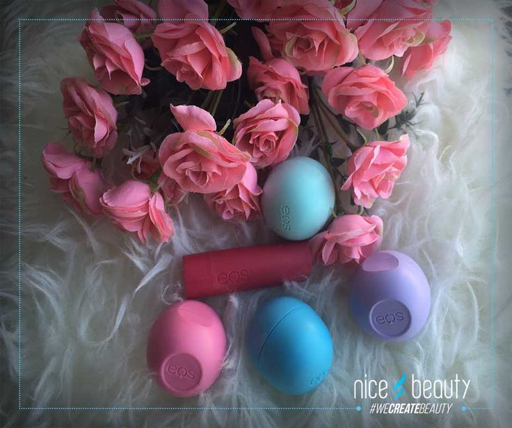 EOS Lip Balms - Say stop to dry and chapped lips!