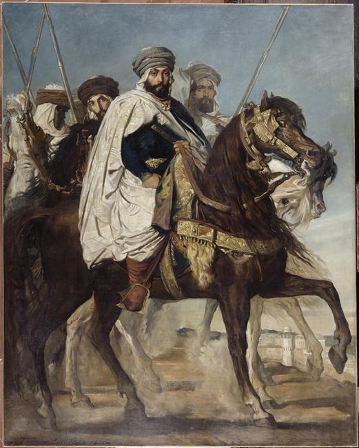Théodore Chasseriau | Ali Ben Ahmed, dernier Khalifa de Constantine | Images d'Art