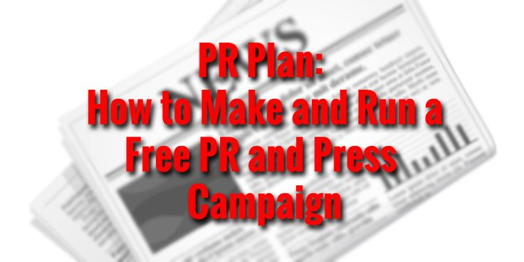 PR Plan: How to Make and Run a Free PR and Press Campaign http://mixingmastering.co.uk/pr-plan-make-run-free-pr-press-campaign/