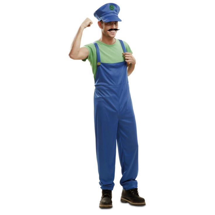 Déguisement Super Luigi #déguisementsadultes #costumespouradultes