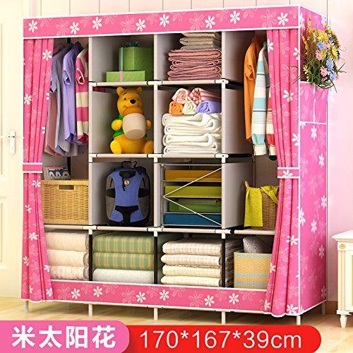 Portable vestiti armadio guardaroba in tessuto non tessut... https ...