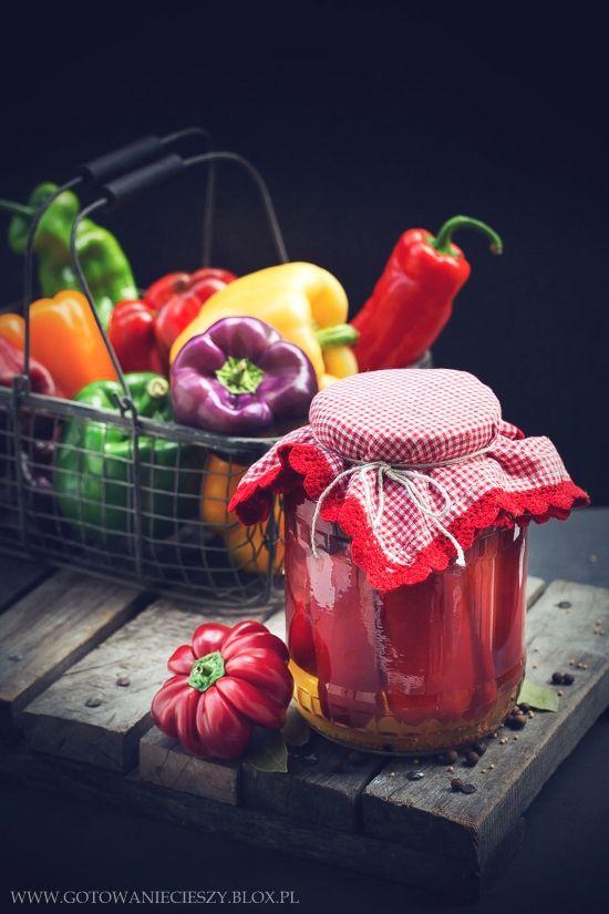Papryka konserwowa (papryka marynowana) - najlepszy przepis - Gotuj...