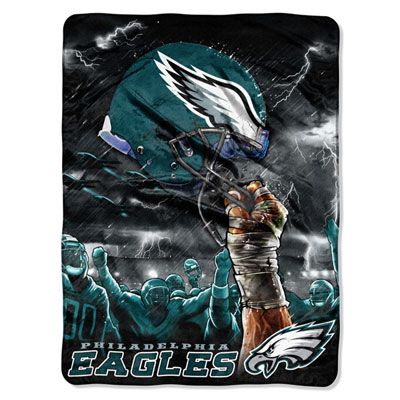 """Need this for winter games! #Eagles 60"""" x 80"""" Raschel Throw $39.99"""