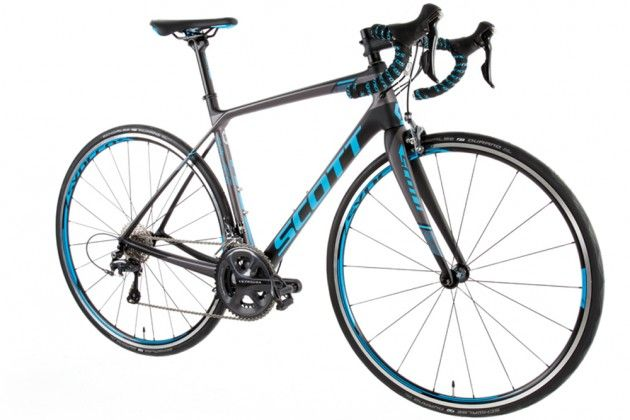 Scott Contessa Solace 15 Women's specific bike with Shimano Ultegra.