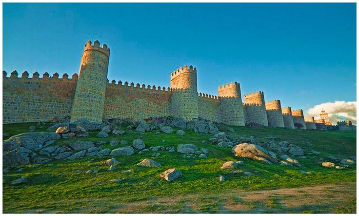 Best Walls of Avila in Spain