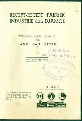Koleksi Tempo Doeloe: Buku jadul th.1941, Resep2 kuno Jamu dan cara membuatnya dan berbagai resep rahasia jadul lainnya.