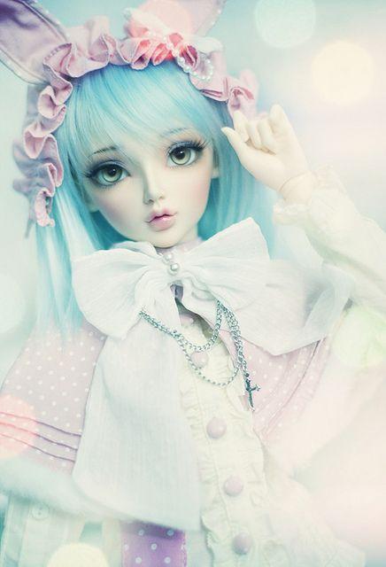 #bjd #dolls #rabbit heart, via Flickr.