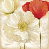 RB7002CC <br> Painted Poppies III <br> 12x12