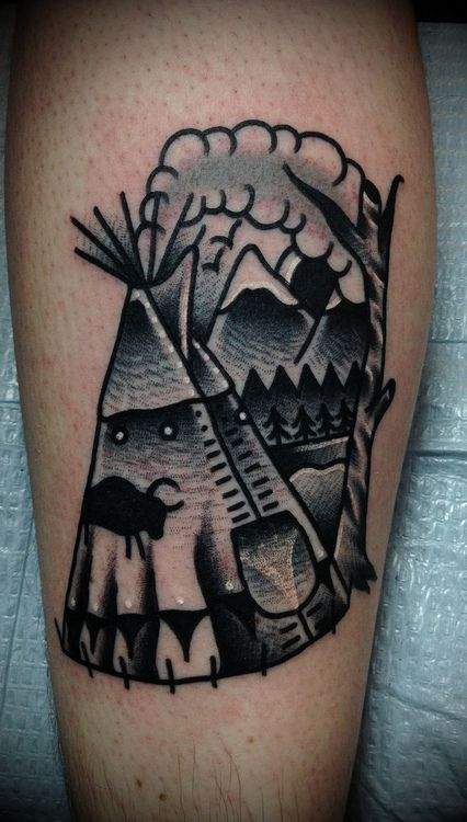 37 best images about teepee tipi tattoo 39 s on pinterest for Wild zero tattoo