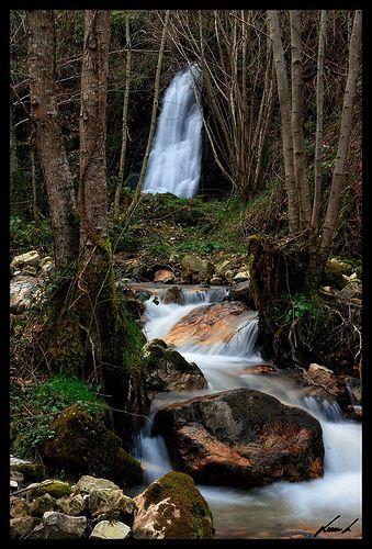 Cascada Nonaya Asturias