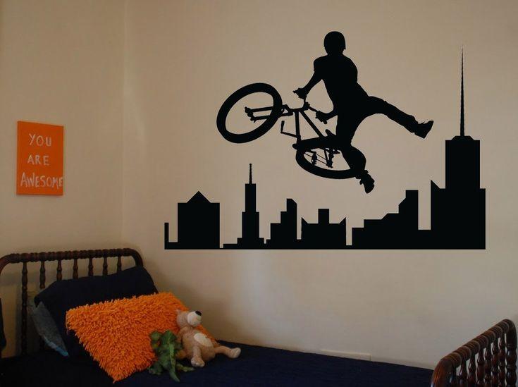 kreativ fiú gyerekszoba dekoráció