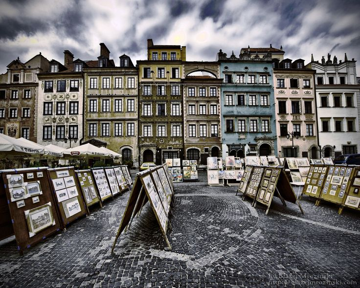 great perspective of The Old Town
