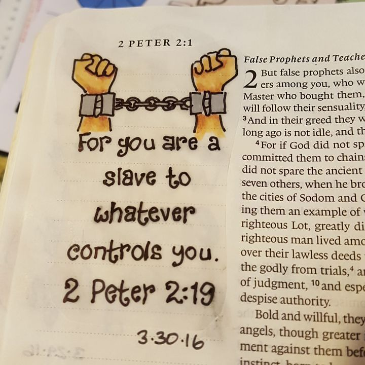 Image result for 2 Peter 2:19