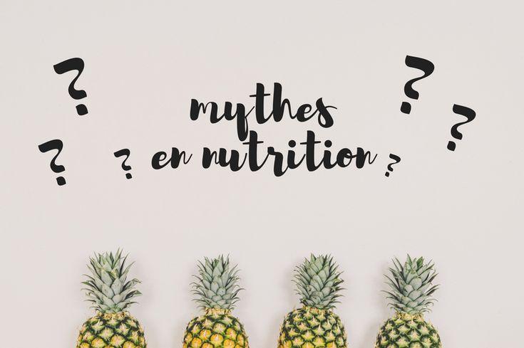 7 vrai ou faux sur la nutrition et la perte de poids!