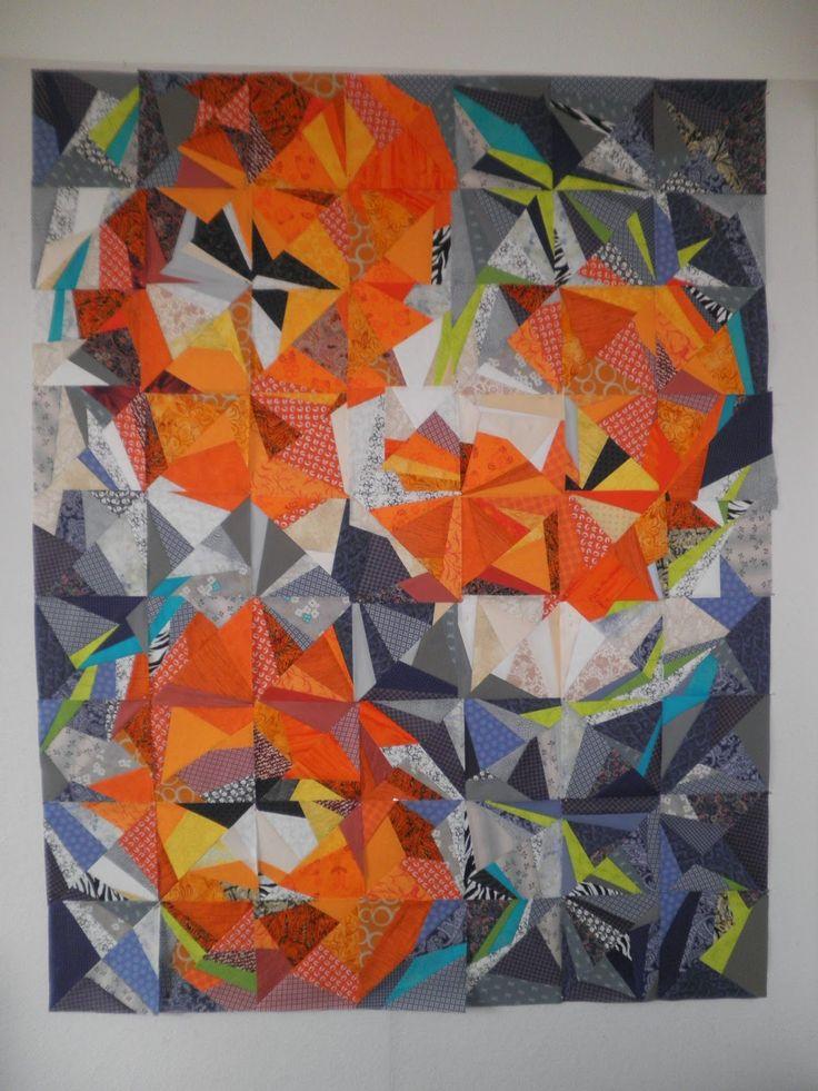 485 Best Improvisational Pieced Quilts Images On Pinterest