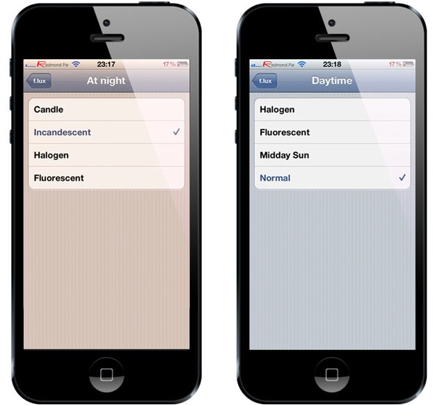 Use a program like Fl.ux to reduce the blue light emitting from your computer and smartphone.