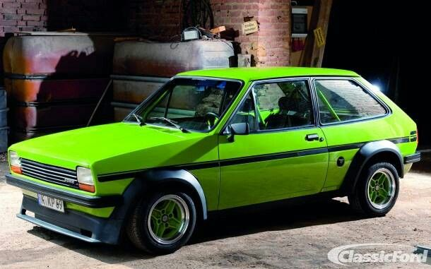 THe older I get, the more the Mk1 fiesta seems to mature and improve