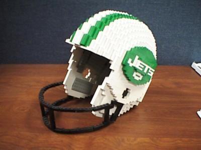 New York Jets football helmet: A LEGO® creation by Derek Schin : MOCpages.com