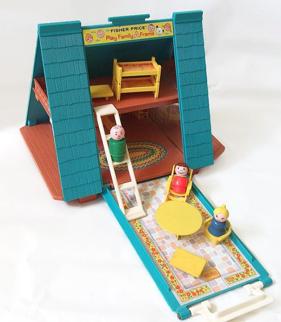 little people frame house....I used to think this was a howard johnson!