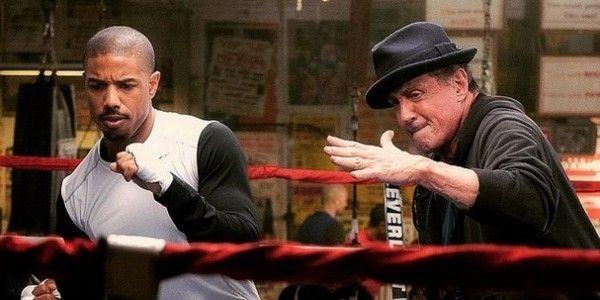 Nous sommes en train de regarder #Creed la suite de Rocky!! Eyes of Tiger!!